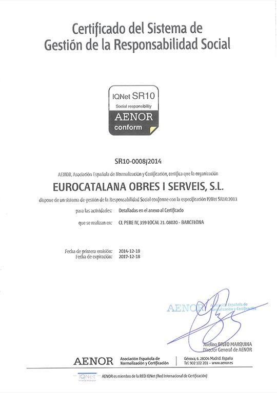 Certificat-IQNet-SR10