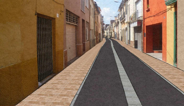 Vista Proyecto C. Corro, Granollers