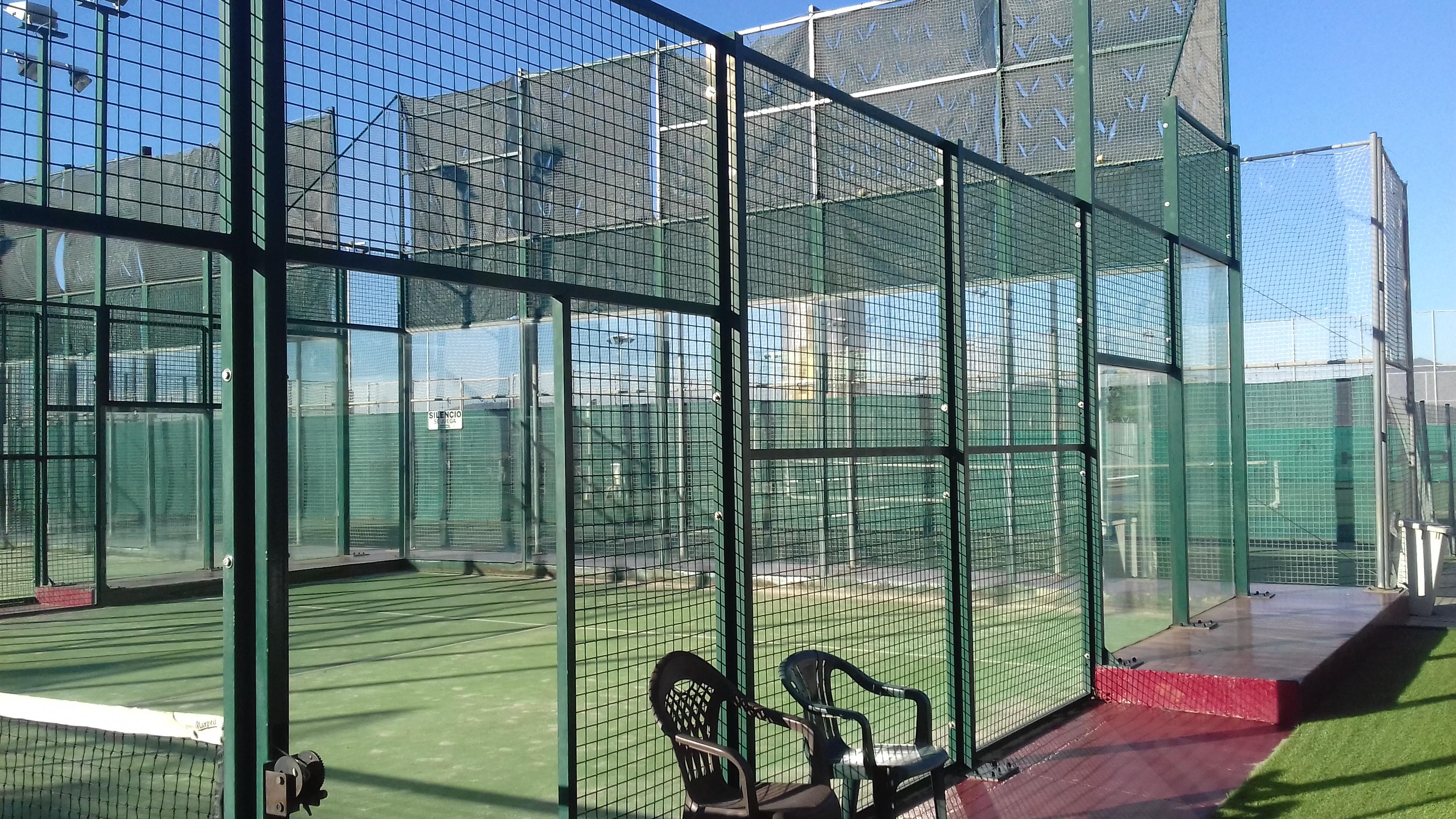 Pistes pàdel tennis Sant Joan Despí